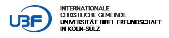 Köln UBF Logo